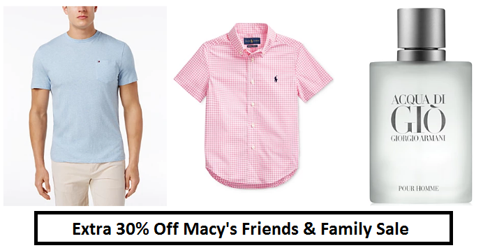 macy's friends and family coupon