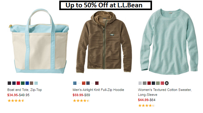 L L Bean Summer Sale Discount