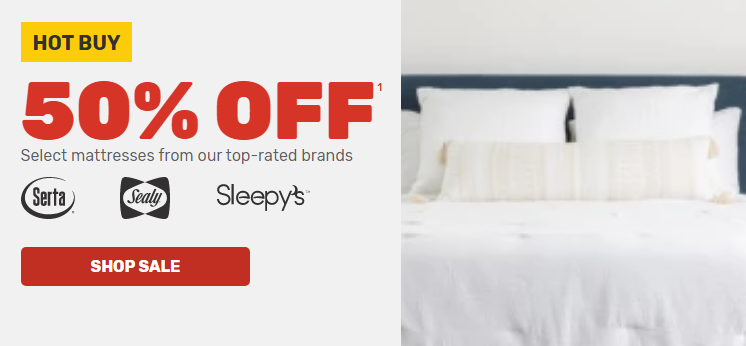 mattress firm 50 off sale