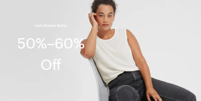 everlane women's clothing sale