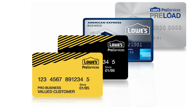 lowes business credit card discount