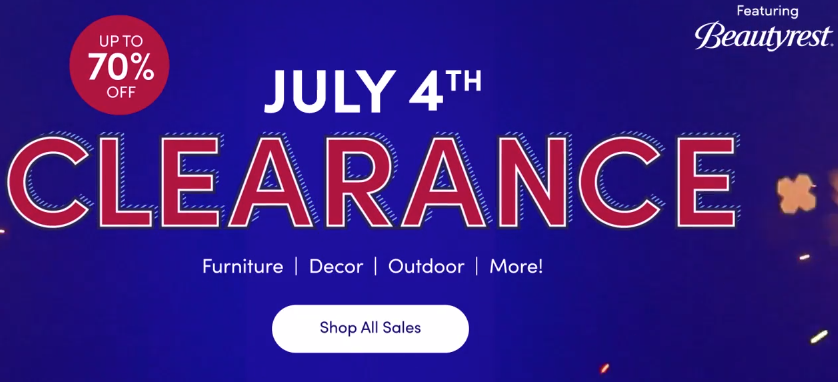 wayfair july 4th deals