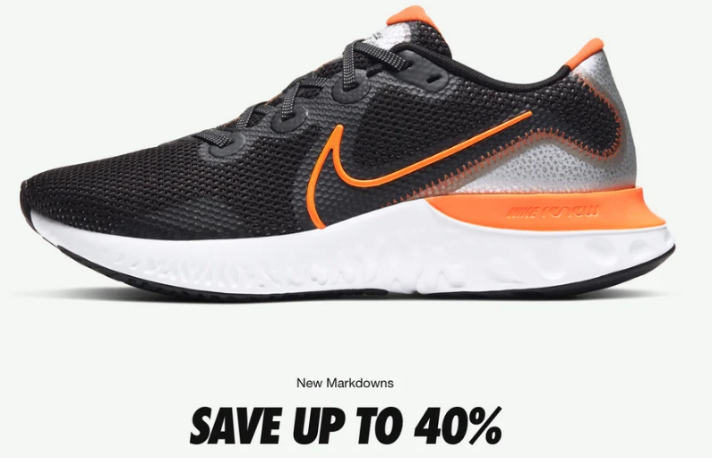 nike clearance sale discount