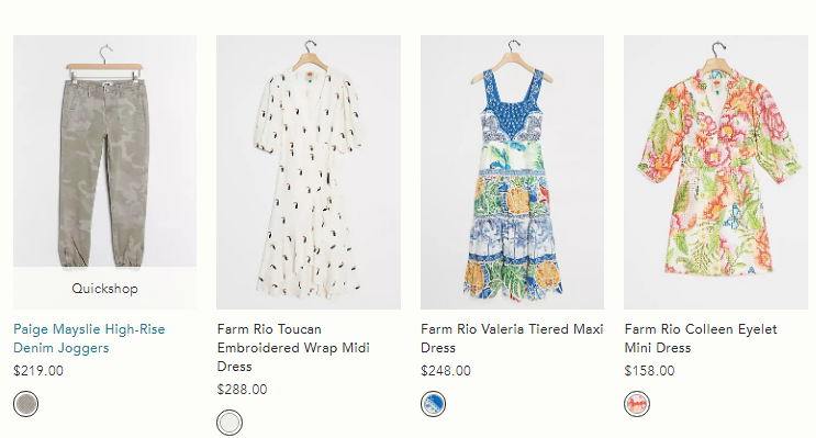 anthropologie clothing sale