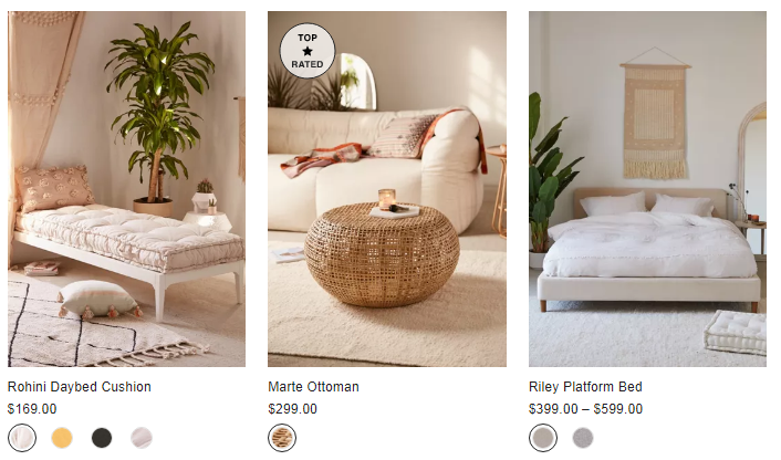 urban outfitter furniture sale
