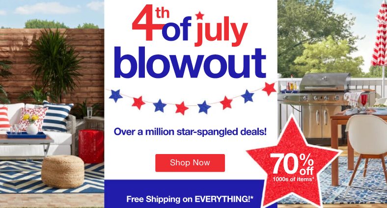 overstock 4th of july sale