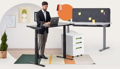 autonomous.ai standing desk discount