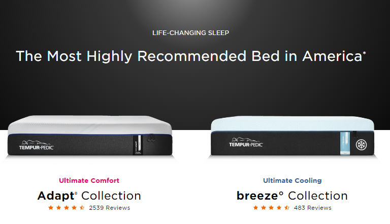 most recommended mattress in america