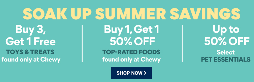 chewy buy 1 get 1 50 off