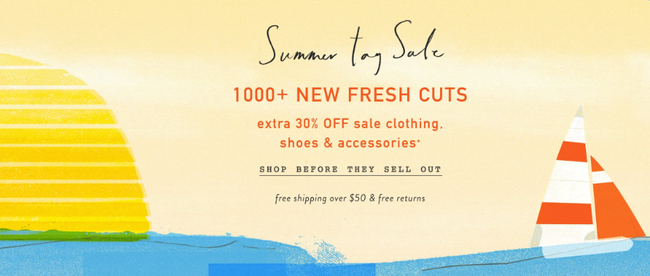 anthropologie summer sale clothing
