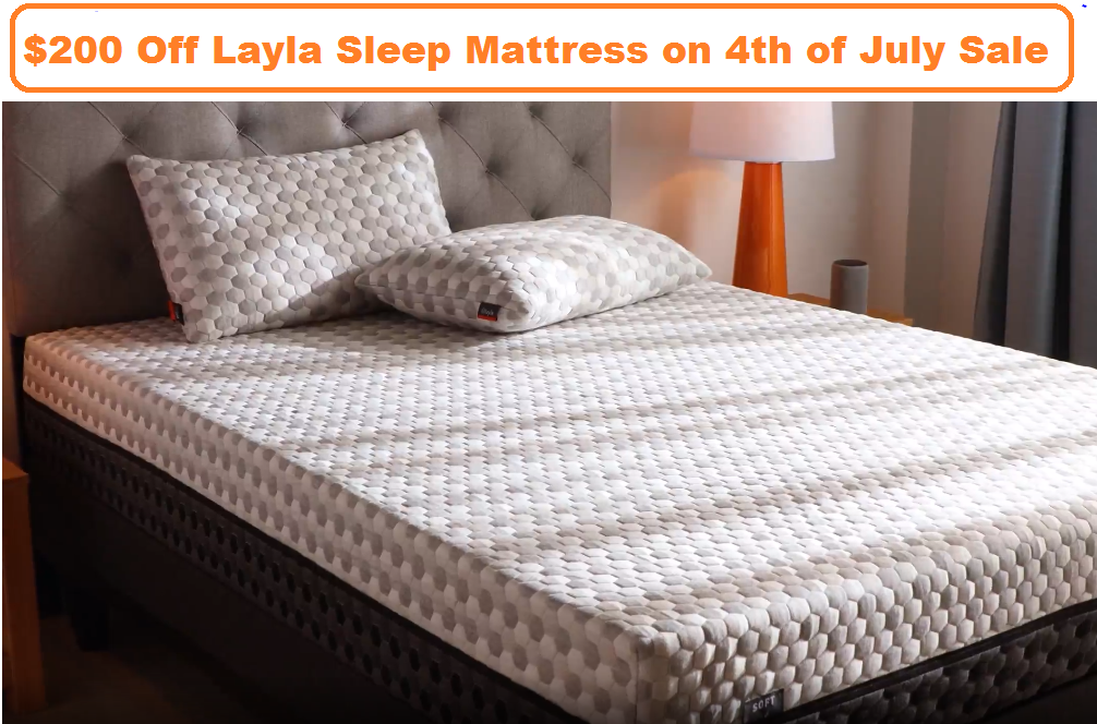 layla sleep 4th of july sale