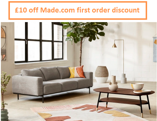 made.com first order discount
