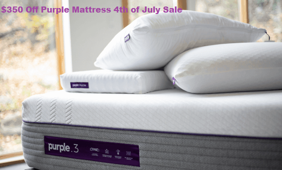 purple mattress 4th july sale