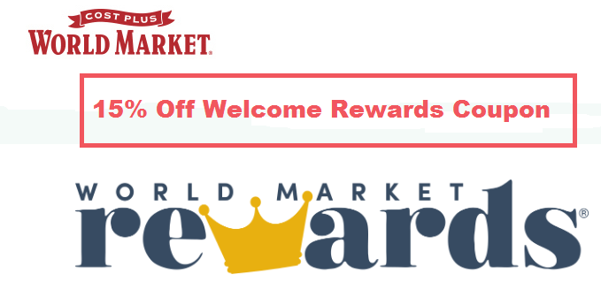 world market welcome coupon