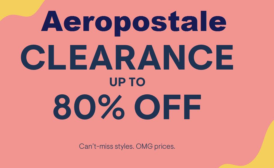 Aeropostale clearance sale