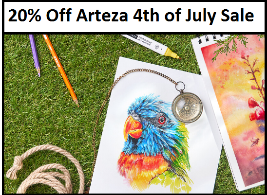 arteza 20 off coupon