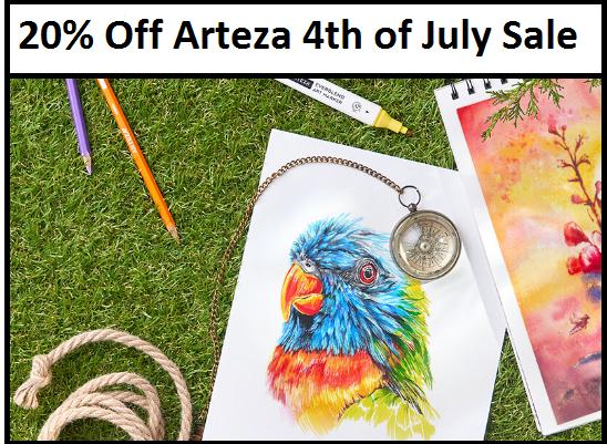 arteza 20 off coupon