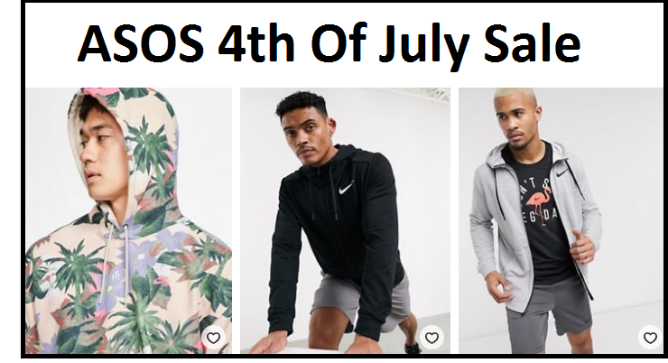 ASOS 4TH OF JULY SALE