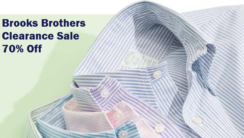 brooks brothers clearance sale