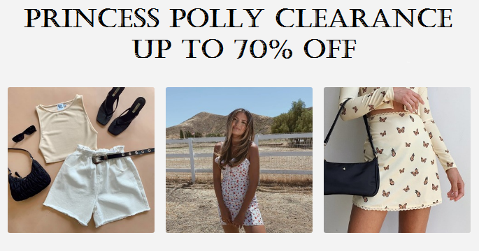 princess polly clearance sale