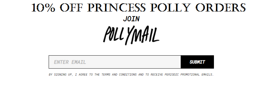 princess polly first order discount