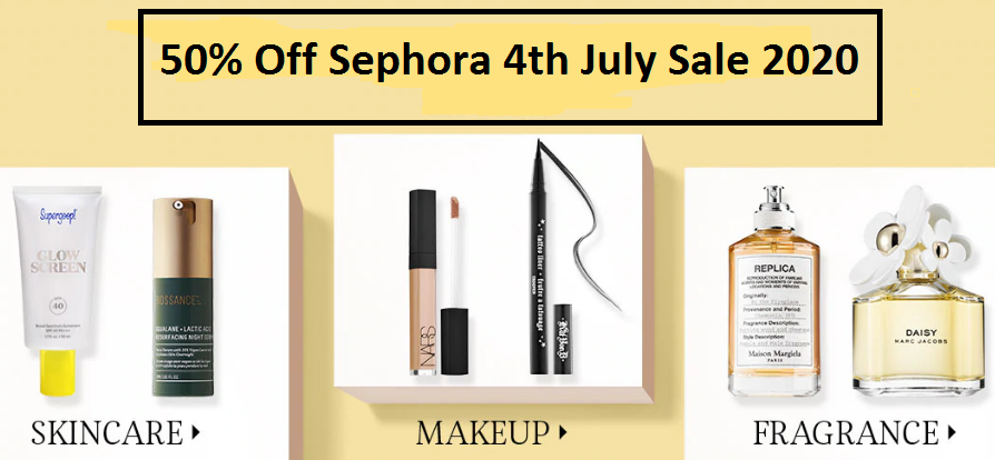 sephora 4th of july sale