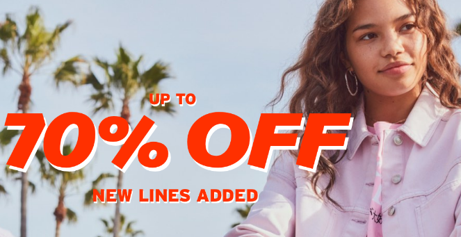 topshop clearance sale