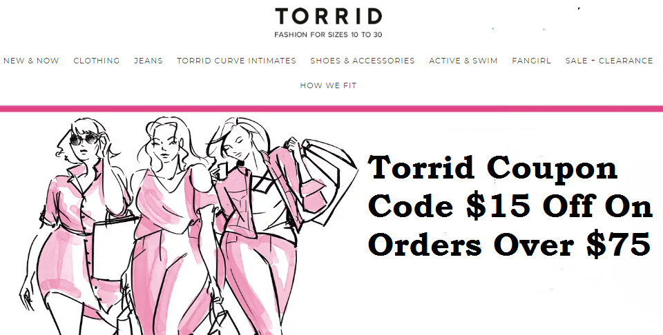 torrid 15 off coupon code