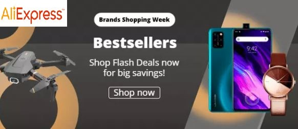 aliexpress brands shopping week 2020