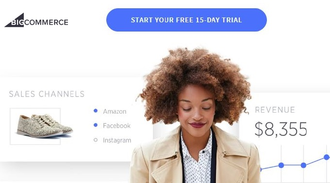 bigcommerce 15 day free trial