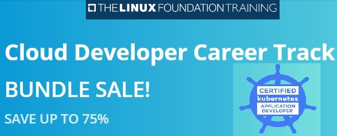 linux foundation cloud developer bundle sale