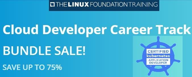 linux foundation cloud developer bundle sale
