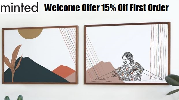 minted welcome offer