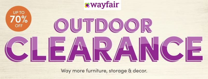 wayfair outdoor clearance