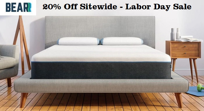 bear mattress labor day sale