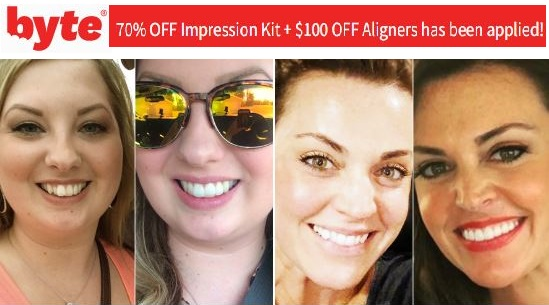 byteme promo code aligners and impression kitd aligners