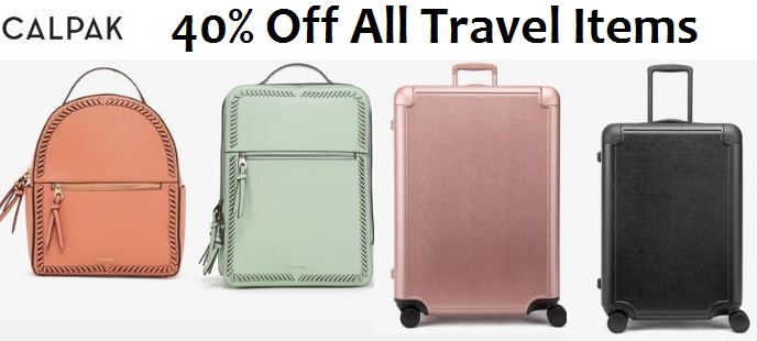 calpak travel sale