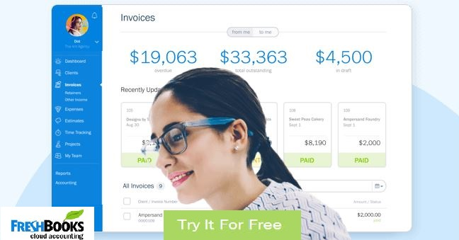 freshbooks free trial 30 day