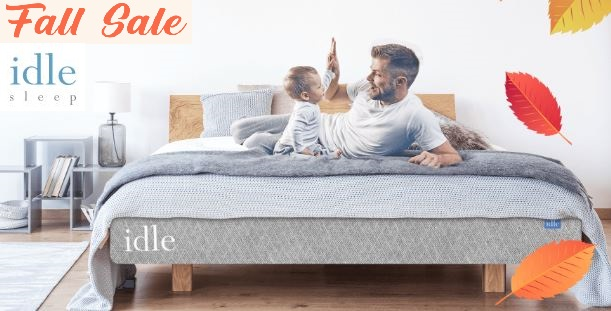 idle sleep fall sale coupon code