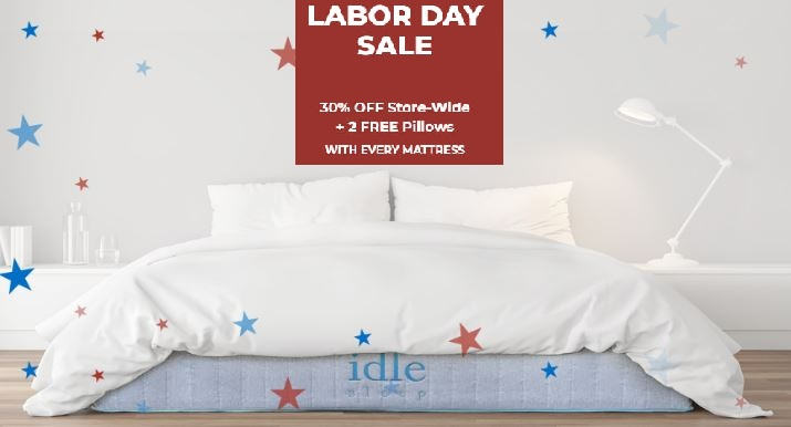 idle sleep labor day sale 2020