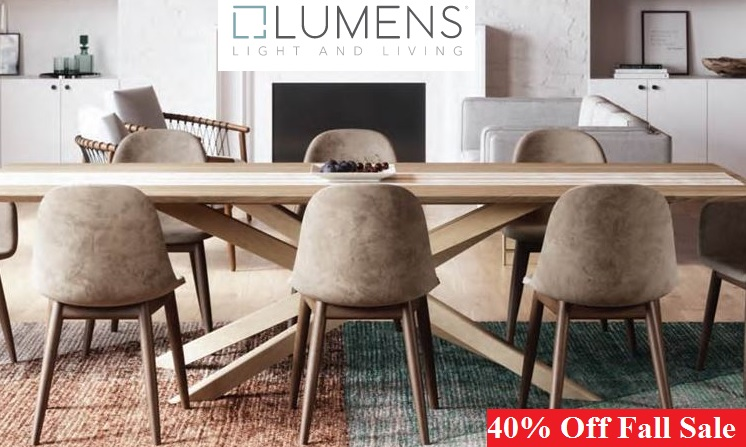 lumens.com fall sale