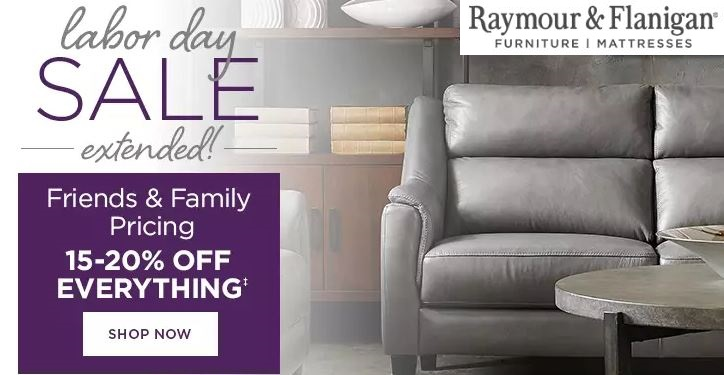 raymour and flanigan labor day sale 2020