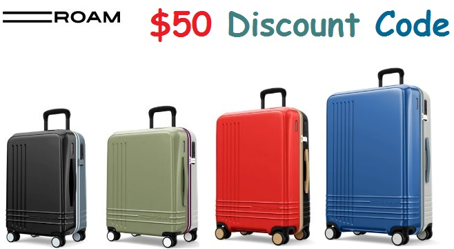 roam luggage discount code