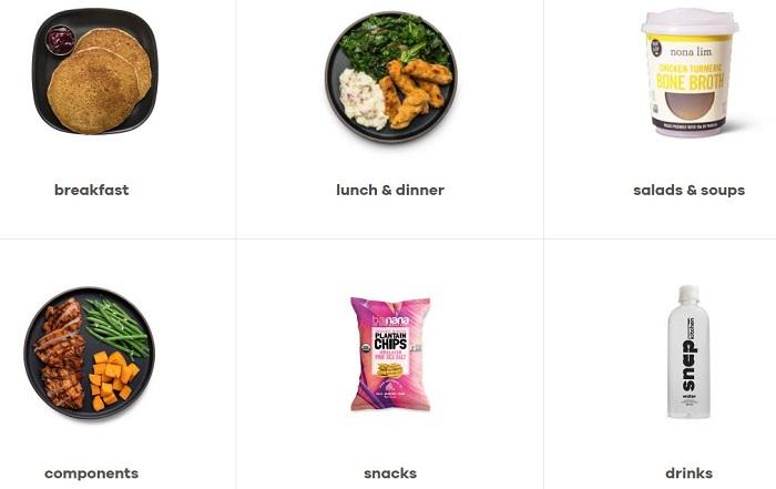 snap kitchen menu plans