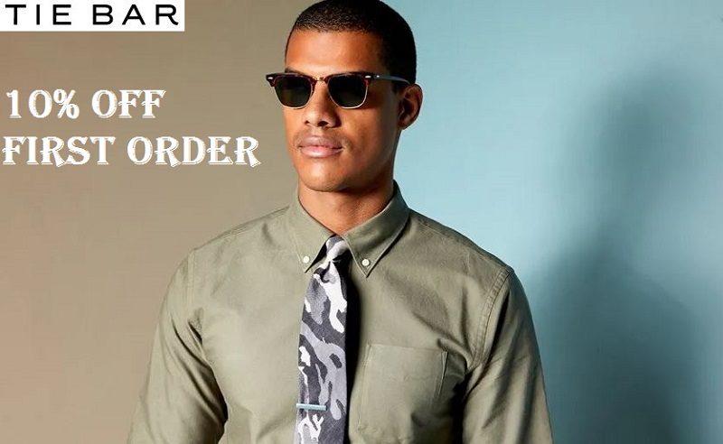 the tie bar first order promo code