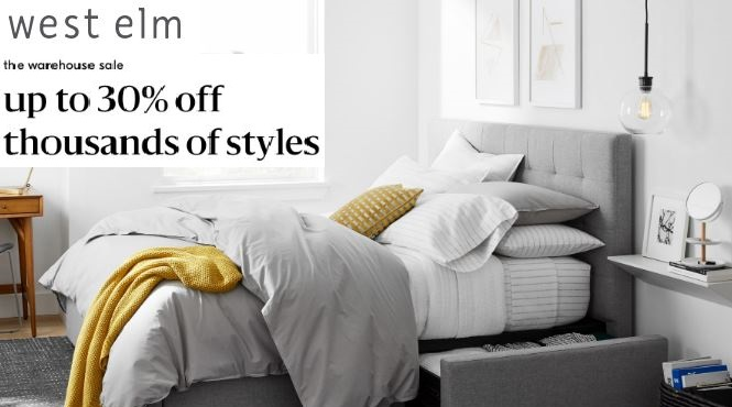 west elm warehouse sale