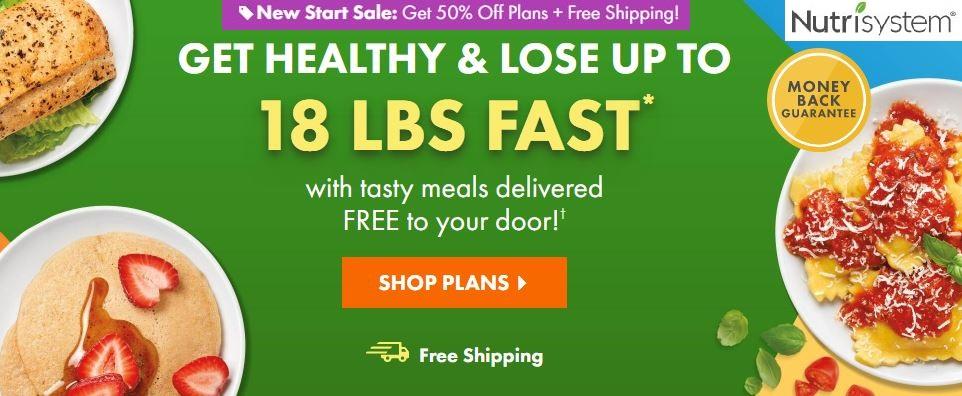 Nutrisystem sale 50 off
