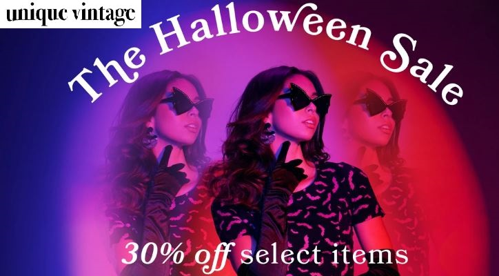 Unique Vintage Halloween Sale Items