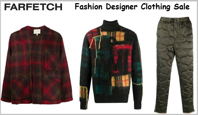 farfetch clothing sale discount code