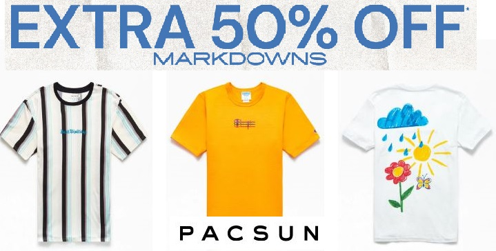 pacsun clearance sale